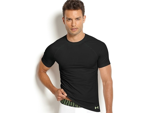 Men's Compression Athletic Performance Crew-Neck T-Shirt by Under Armour in Fast & Furious 6