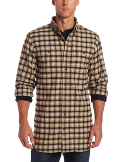 Trumbull Plaid Shirt by Carhartt in Everest
