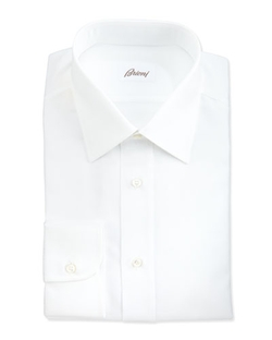 Herringbone Dress Shirt by Brioni in Atonement