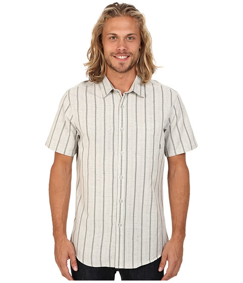 Flecks Short Sleeve Button Up Shirt by Billabong in Flaked - Season 1 Preview