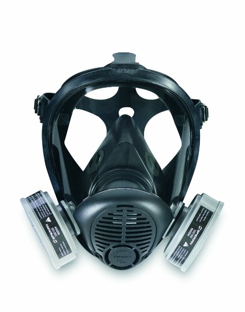 Full Face Piece Respirator Mask by Sperian in The Transporter: Refueled