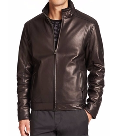 Reversible Leather Jacket by Saks Fifth Avenue Collection in CHIPs