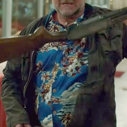 Custom Made Floral Hawaiian Button Shirt by Anto Beverly Hills in The Nice Guys