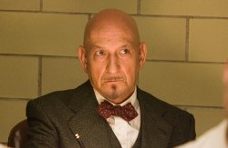 Custom Made Suit (Ben Kingsley) by Sandy Powell (Costume Designer) in Shutter Island