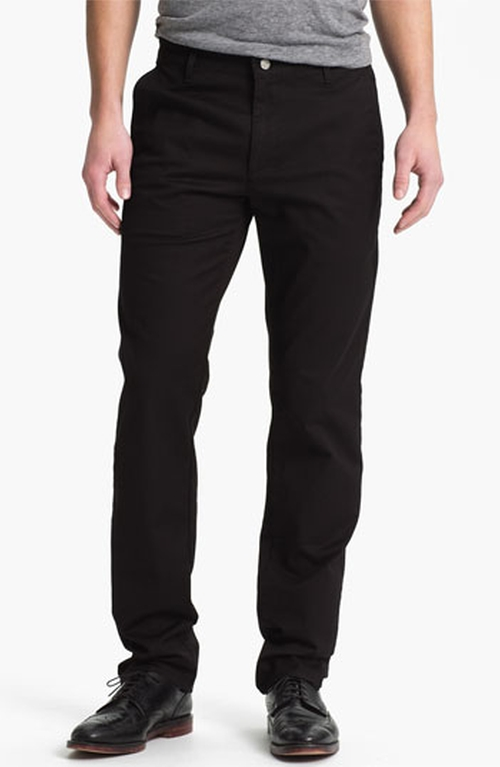 Slim Straight Leg Chinos by AG in Straight Outta Compton
