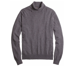 Cashmere Turtleneck Sweater by Brooks Brothers in Jason Bourne