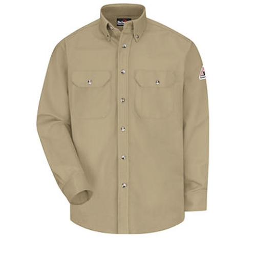 Long-Sleeve Dress Shirt by Bulwark in The Ranch -  Looks