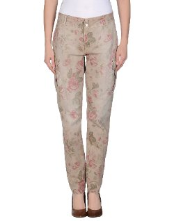 Floral Print Casual Pants by Up Jeans in Pitch Perfect 2