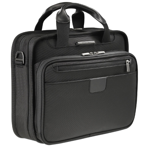 Small Slim Clamshell Briefcase by Briggs & Riley in Paper Towns