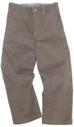 Herbert H. Almond Chevron Pants by Blu Pony Vintage in Pan