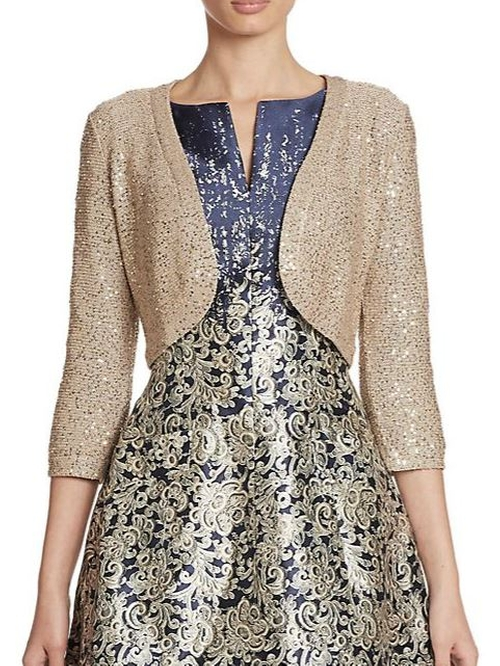 Sequined Bolero Jacket by Oscar De La Renta in Scream Queens - Season 1 Episode 6
