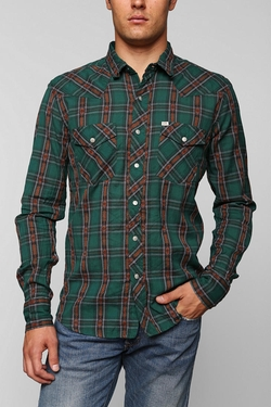 Salt Valley Carver Western Shirt by Urban Outfitters in The Big Bang Theory