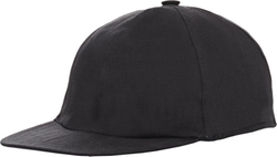 Black Plain-Weave Linen Baseball Cap by Barneys New York in Straight Outta Compton