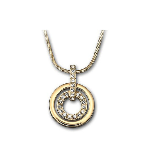Crystal Circle-Pendant Necklace by Swarovski in The Last Witch Hunter