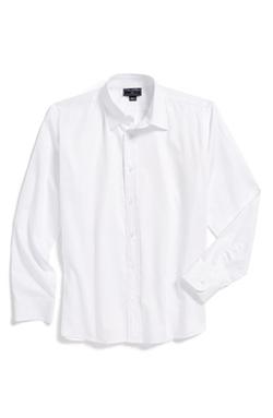 Long Sleeve Cotton Dress Shirt by Oscar de la Renta in The Hundred-Foot Journey