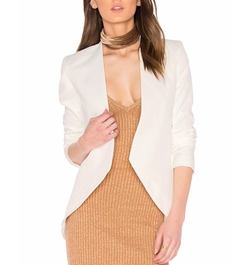 Open Front Blazer by Blaque Label in Quantico