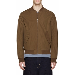 Khaki Musik Bomber Jacket by Acne Studios in Friends From College