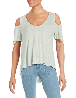 Bittersweet Cold Shoulder Top by Free People in Fuller House