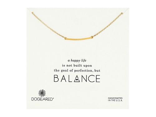 Balance Medium Square Bar Necklace by Dogeared in Pretty Little Liars - Season 6 Episode 6