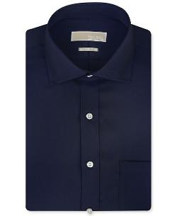 Non-Iron Solid Dress Shirt by Michael Kors in Savages