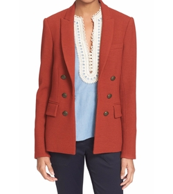 'Peninsula' Faux Double Breasted Blazer by Veronica Beard in How To Get Away With Murder