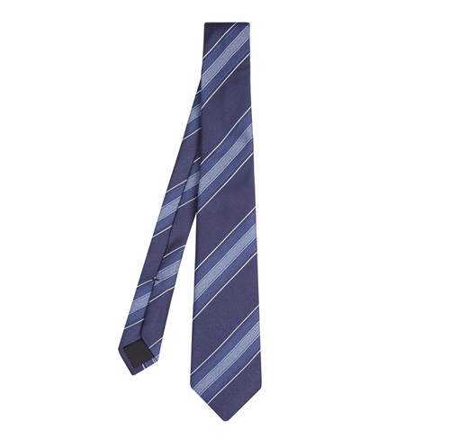 Striped Silk-Twill Tie by Gucci in Scandal
