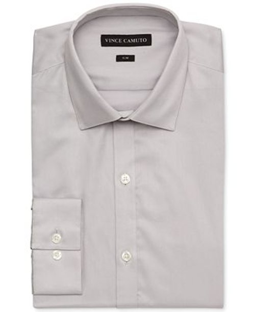 Slim-Fit Sateen Dress Shirt by Vince Camuto in (500) Days of Summer