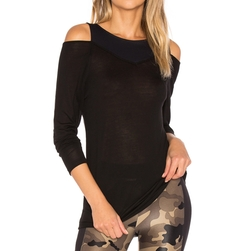 Hold Long Sleeve Top by Koral in Billions