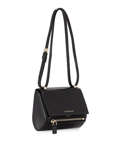 Mini Pandora Box Patent Shoulder Bag by Givenchy in Keeping Up With The Kardashians - Season 11 Episode 9