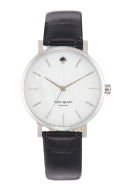 Metro Embossed Leather Strap Watch by Kate Spade New York in Prisoners