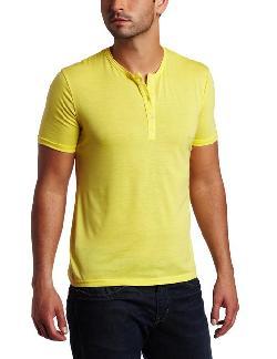 Men's Henley T-shirt by Vuthy in Million Dollar Arm