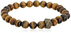 Tiger Eye Stretch Bracelet by Ettika in Scout's Guide to the Zombie Apocalypse