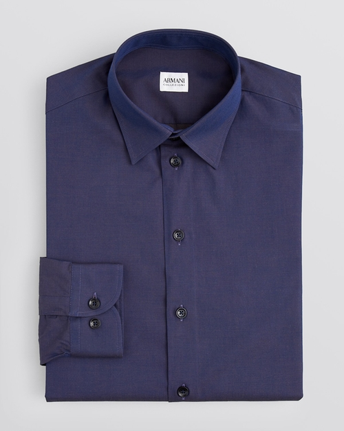Solid Dress Shirt by Armani Collezioni in The Second Best Exotic Marigold Hotel