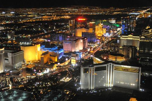 Las Vegas Nevada in The Expendables 3