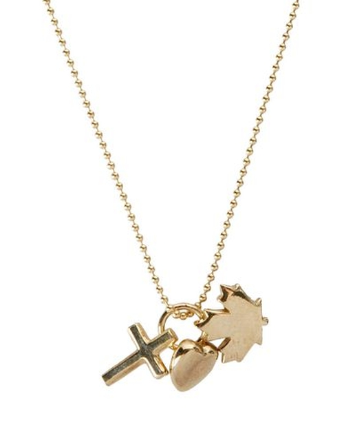 Logo Detail Necklace by Dsquared2 in We Are Your Friends