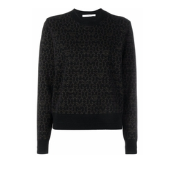 Star Logo Print Sweater by Givenchy in Power