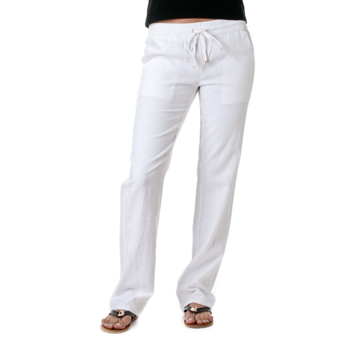 Womens Linen Drawstring Pants by Love Tree  in Suicide Squad