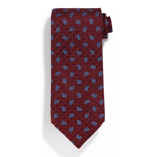 Neat Paisley-Print Silk Tie by Stefano Ricci in Collateral Beauty