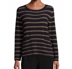 Antiope Stripe Knit Sweater by Weekend Max Mara in Quantico