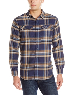 Flare Gun Flannel Long-Sleeve Shirt by Columbia in The Big Bang Theory