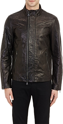 Wrinkled Leather Jacket by John Varvatos in Mission: Impossible - Rogue Nation