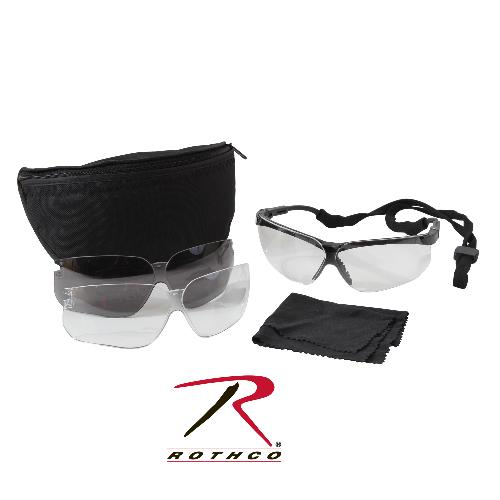 Military Eye Protection Kit by UVEX Genesis in Sabotage