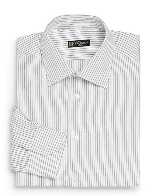 Fine Striped Dress Shirt by Corneliani in The Other Woman