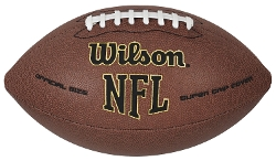 NFL Super Grip Football by Wilson in Cut Bank