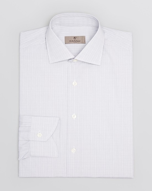 Light Plaid Dress Shirt by Canali in Suits - Season 5 Episode 1