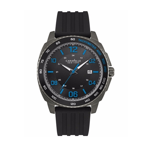 Sport Silicone Strap Watch by Caravelle New York by Bulova in La La Land