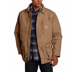 Sandstone Rancher Coat by Carhartt in The Accountant