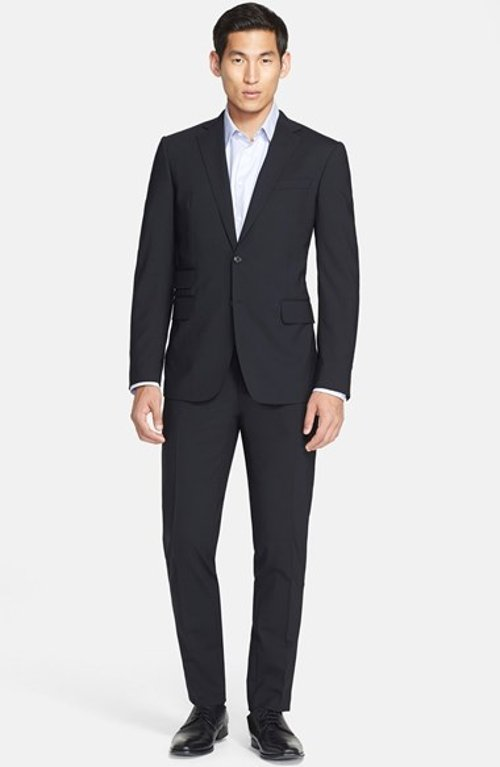 'Milano' Stretch Wool Blend Suit by Dsquared2 in Sex and the City 2