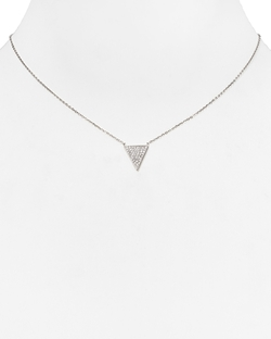 Pavé Triangle Pendant Necklace by Michael Kors in Pretty Little Liars