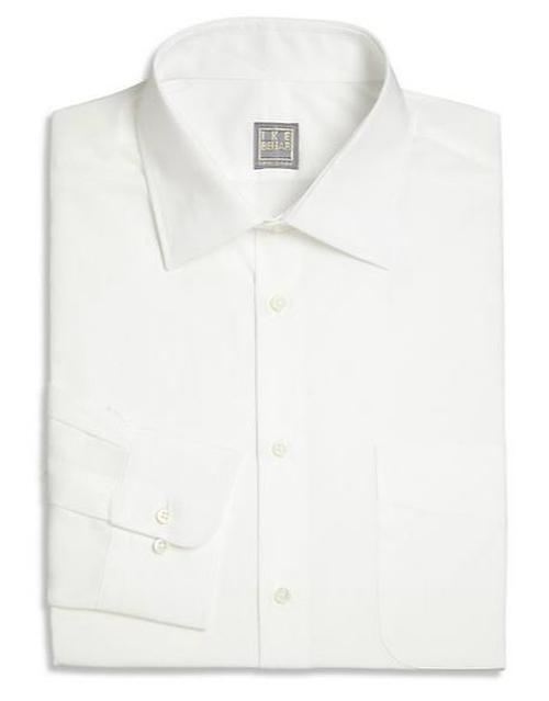 Solid Dress Shirt by Ike Behar in Survivor